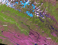 Alazani River Basin Mosaic